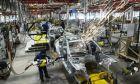 Εργαζόμενοι σε εργοστάσιο στην Γερμανία