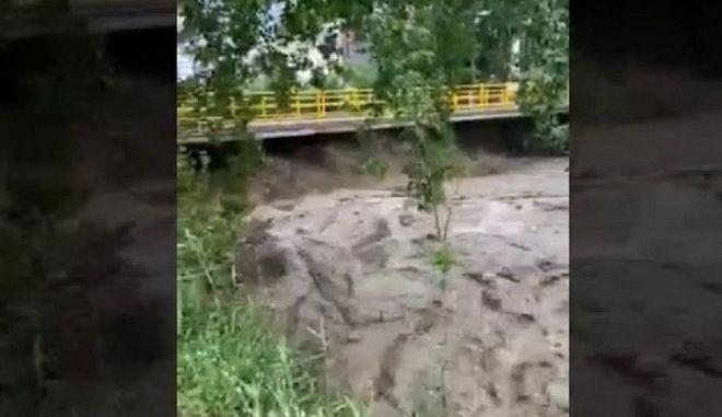 Σέρρες: Πλημμύρες από έντονη βροχόπτωση - Εκατοντάδες κλήσεις στην Πυροσβεστική