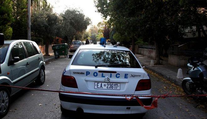 ΑΘΗΝΑ- έκρηξη αυτοσχέδιου εκρηκτικού μηχανισμού στο Χαλάνδρι, στην είσοδο γκαράζ πολυκατοικίας.(EUROKINISSI-ΓΕΩΡΓΙΑ )