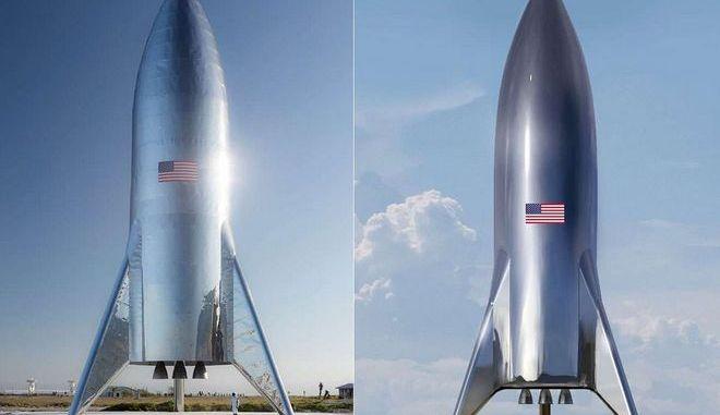 Ο νέος... ρετρό πύραυλος του Έλον Μασκ