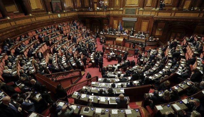 Ιταλικό Κοινοβούλιο (φωτό αρχείου)