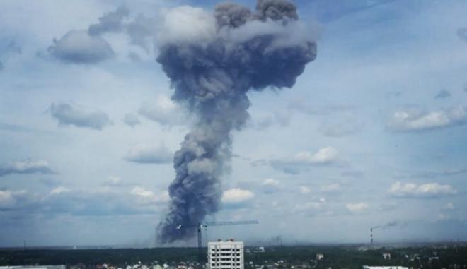 Ρωσία: Δύο αγνοούμενοι και 16 τραυματίες από έκρηξη σε εργοστάσιο παραγωγής ΤΝΤ