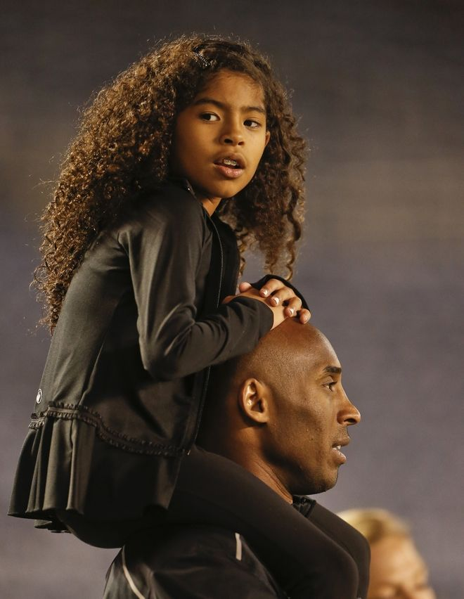 Ο Κόμπι Μπράιαντ και η κόρη του Τζιάνα