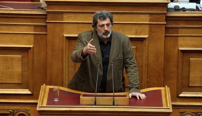 Συζήτηση και λήψη απόφασης, στην Ολομέλεια της Βουλής, για αιτήσεις άρσης ασυλίας Βουλευτών την Τετάρτη 30 Μαρτίου 2016. (EUROKINISSI/ΑΛΕΞΑΝΔΡΟΣ ΖΩΝΤΑΝΟΣ)