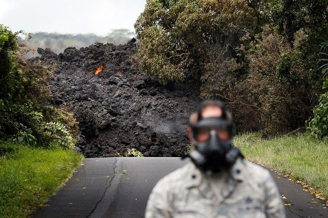 Ηφαίστειο Κιλαουέα, Χαβάη. Η Πυροσβεστική κάνει λόγο για