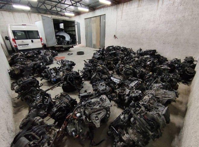 Εξαρθρώθηκε σπείρα με πάνω από 232 κλοπές αυτοκινήτων