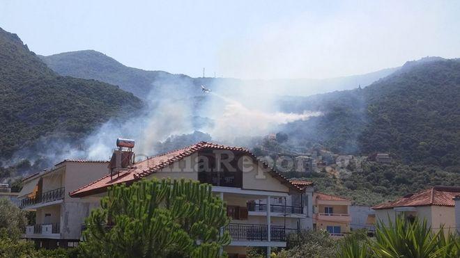 Νέα πυρκαγιά στην Ζάκυνθο. Στο στόχαστρο εμπρηστών το νησί;