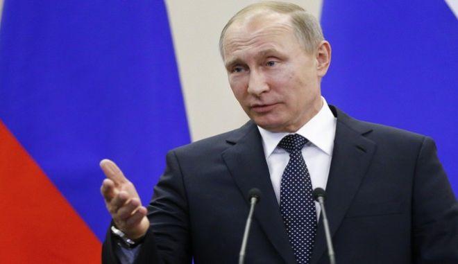 Ο Ρώσος πρόεδρος, Βλαντιμίρ Πούτιν