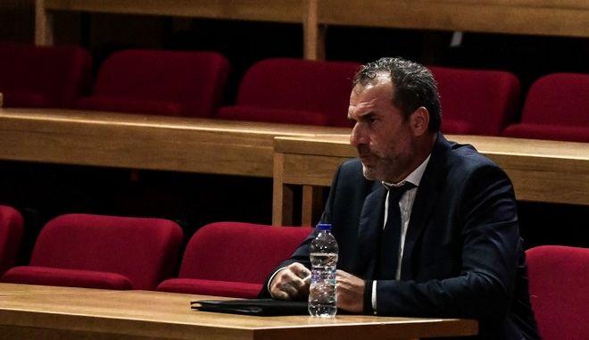 Απολογία των κατηγορουμένων για διεύθυνση εγκληματικής οργάνωσης πρώην βουλευτών Κώστα Μπαρμπαρούση, Νίκου Μίχου και Νίκου Κούζηλου στην δίκη της Χρυσής Αυγής
