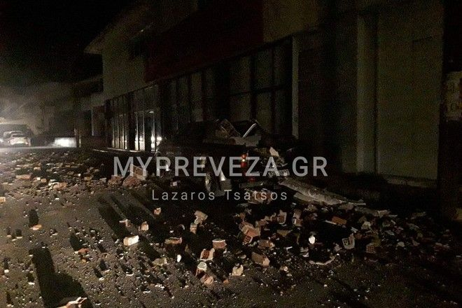Ισχυρός σεισμός 5,6 Ρίχτερ στην Πάργα