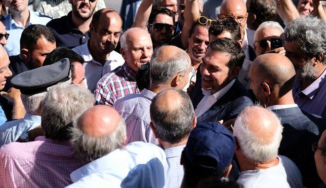 Επίσκεψη του πρωθυπουργού Αλέξη Τσίπρα στα Χανιά