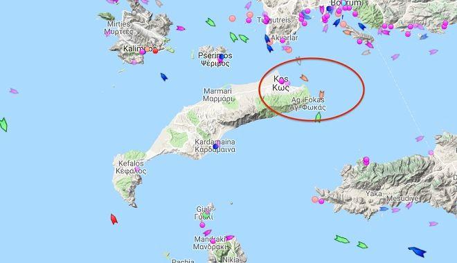 Στα παράλια της Κω Τούρκοι ψαράδες