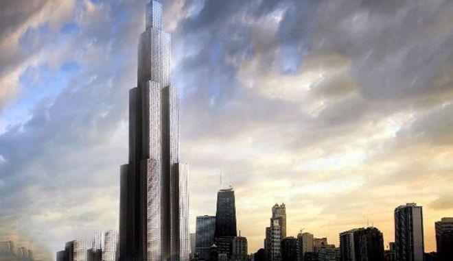 Χτίζουν τον ψηλότερο ουρανοξύστη του κόσμου σε τρεις μήνες