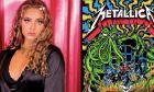 """Σταρ του TikTok """"πετσοκόβει"""" όσους την κατηγόρησαν για το μπλουζάκι Metallica"""