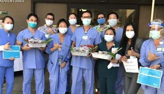 Γιατροί και νοσηλευτές στη Χαβάι