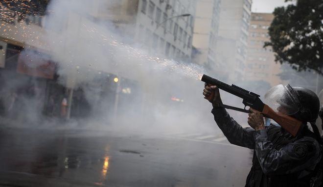 Βραζιλιάνος αστυνομικός.