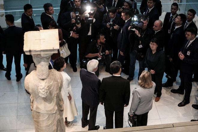 Σι Τζινπίνγκ Συμφωνώ στην επιστροφή των Γλυπτών του Παρθενώνα θα έχετε την υποστήριξή μας