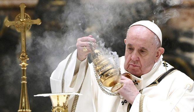 Ο πάπας Φραγκίσκος