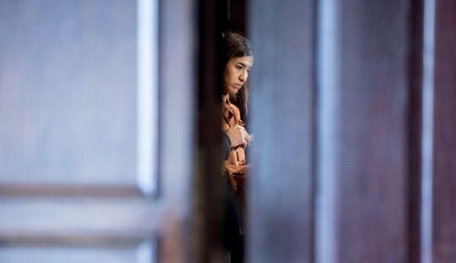 Η 25χρονη Νάντια Μουράντ, που βραβεύτηκε με το Νόμπελ Ειρήνης