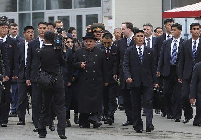 Συνάντηση Κιμ Γιονγκ Ουν - Πούτιν