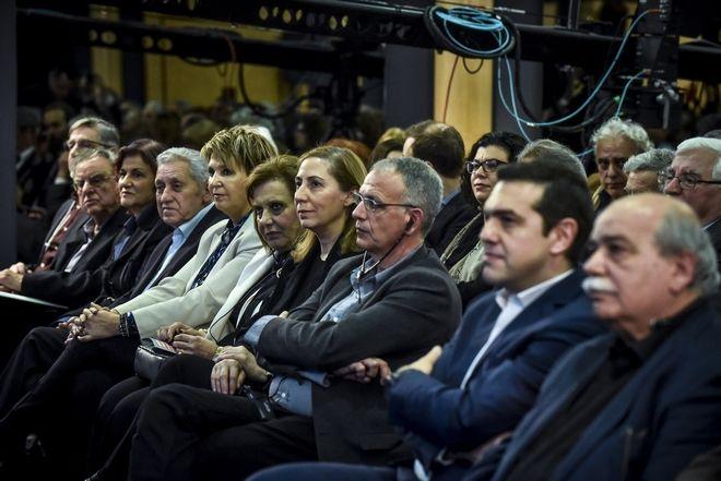 O πρωθυπουργός Αλέξης Τσίπρας, στο Προοδευτικό Φόρουμ