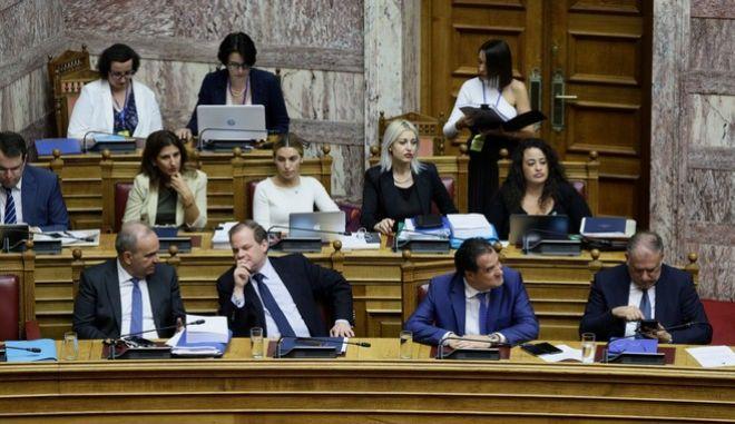 Συζήτηση και ψήφιση των άρθρων και του συνόλου του αναπτυξιακού νομοσχεδίου