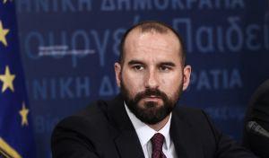 O κυβερνητικός εκπρόσωπος, Δημήτρης Τζανακόπουλος
