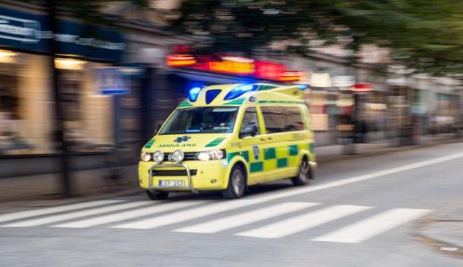 Ασθενοφόρο στη Σουηδία