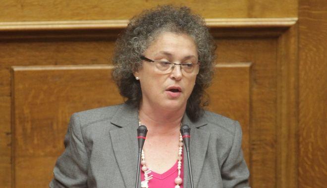 Συνεδρίαση της Ολομέλειας της Βουλής, στο πλαίσιο των προγραμματικών δηλώσεων της κυβέρνησης την Τρίτη 6 Οκτωβρίου 2015. (EUROKINISSI/ΓΙΑΝΝΗΣ ΠΑΝΑΓΟΠΟΥΛΟΣ)