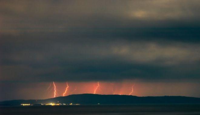 Καταιγίδα στη Χαλκιδική