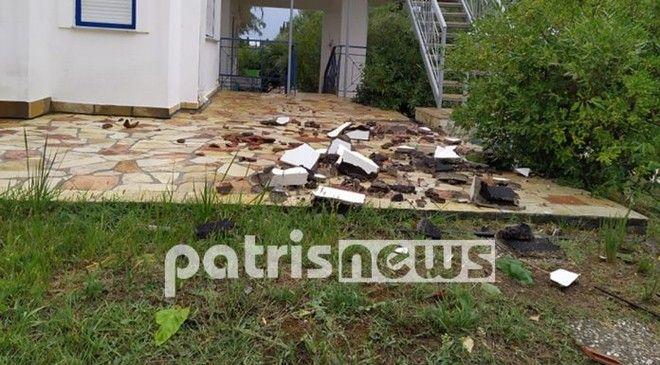 Στο έλεος της κακοκαιρίας η χώρα: Δύο νεκροί από κεραυνούς - Εικόνες καταστροφής στη δυτική Ελλάδα