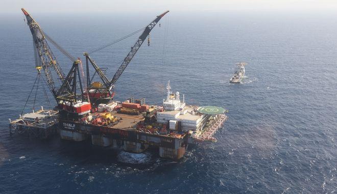 Το Λεβιάθαν, ένα από τα μεγαλύτερα στον κόσμο θαλάσσια κοιτάσματα αερίου.