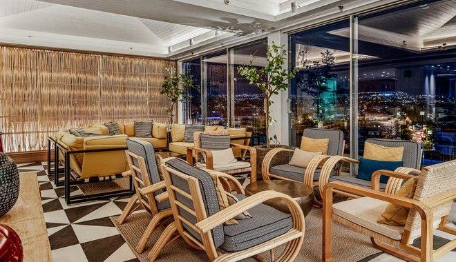 Η απόλυτη e&o εμπειρία στο rooftop του Athens Marriott Hotel