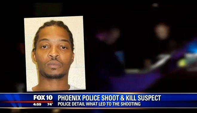 Λευκός αστυνομικός σκότωσε άοπλο αφροαμερικανό στο Φοίνιξ της Αριζόνα