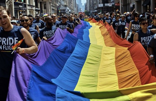Gay Pride στη Νέα Υόρκη το 2018