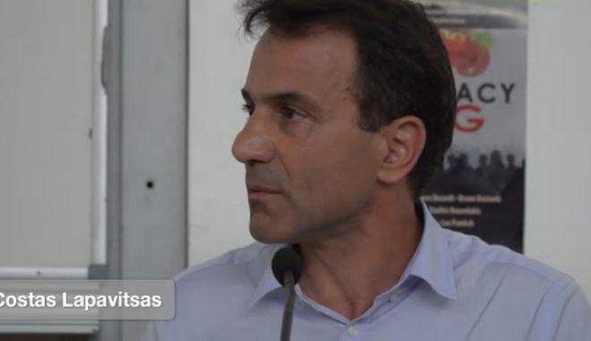 Λαπαβίτσας: Δεν παραιτούμαι γιατί η Αριστερή Πλατφόρμα είναι ο ΣΥΡΙΖΑ