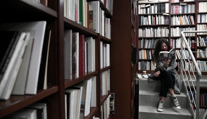 Στιγμιότυπο από βιβλιοπωλείο