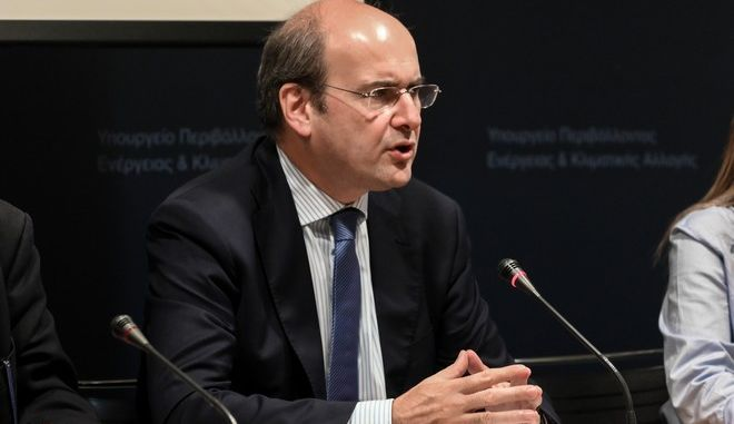 Ο Υπουργός Περιβάλλοντος και Ενέργειας, Κωστής Χατζηδάκης