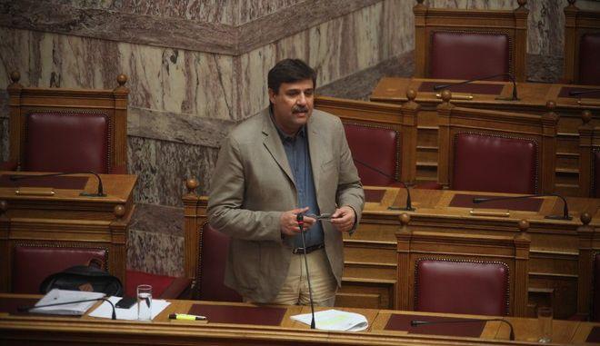 Συζήτηση επίκαιρων ερωτήσεων στην Βουλή την Παρασκευή 1 Ιουλίου 2016. (EUROKINISSI/ΑΛΕΞΑΝΔΡΟΣ ΖΩΝΤΑΝΟΣ)