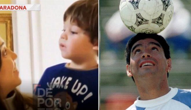 """""""Γεια σου Ντιέγκο""""! Ο Μαραντόνα στο τελευταίο του βίντεο έκανε ακόμα ένα παιδί ευτυχισμένο"""