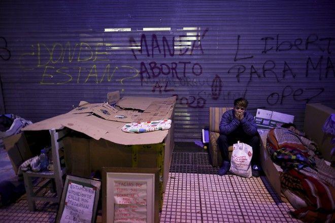 Άστεγος στην Αργεντινή