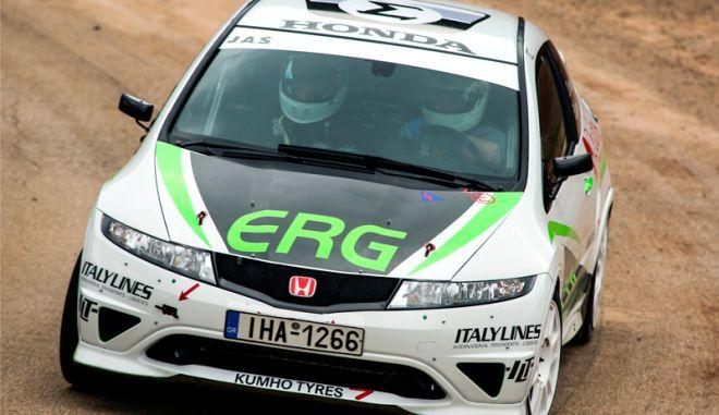 Ελληνική συμμετοχή στο Ράλι Μόντε Κάρλο με ένα Honda Civic Type-R