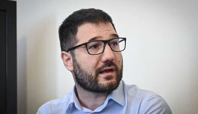 Ο εκπρόσωπος τύπου του ΣΥΡΙΖΑ, Νάσος Ηλιόπουλος
