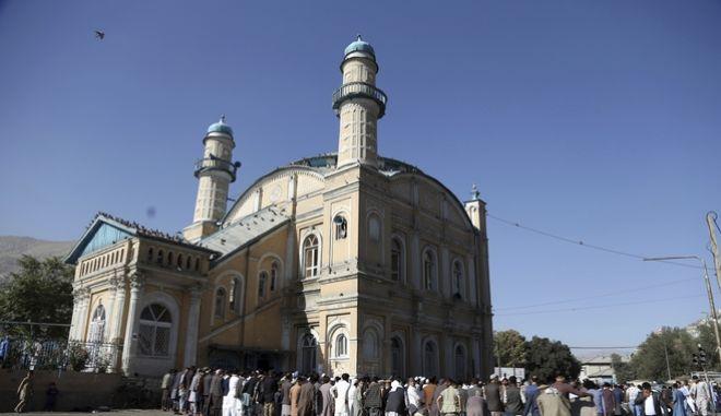 """Το τζαμί """"Shah-e-Dushamshera"""" στο Afghanistan"""