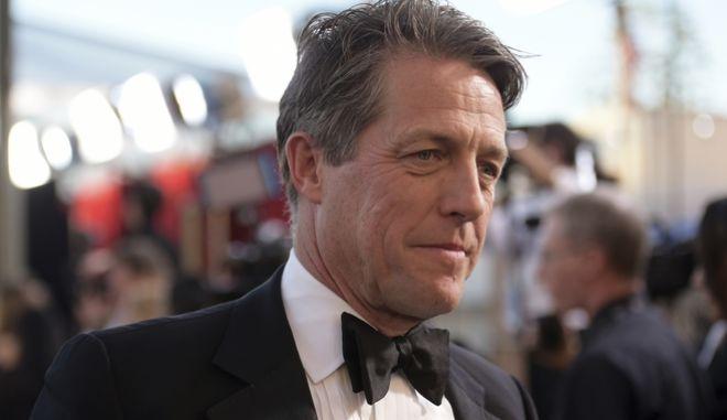 Ο Βρετανός ηθοποιός Hugh Grant στα 23α βραβεία Screen Actors Guild Awards