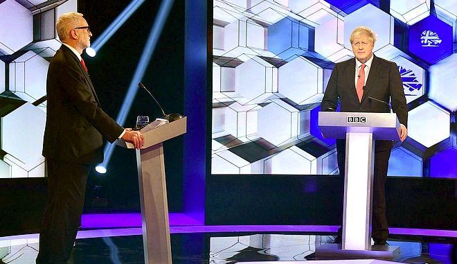 Οι δύο ηγέτες σε ντιμπέιτ