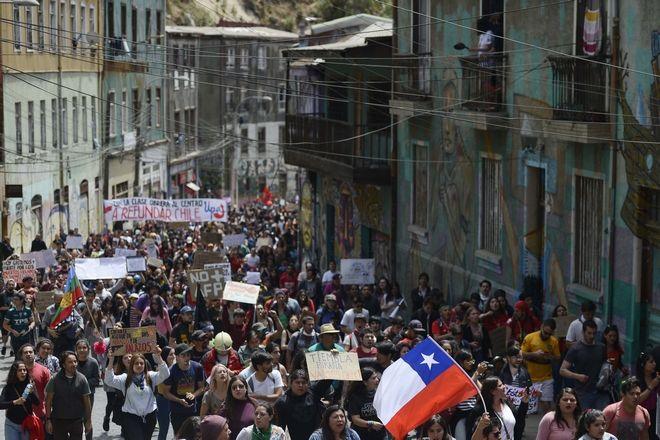 Σε κατάσταση εκτάκτου ανάγκης η Χιλή
