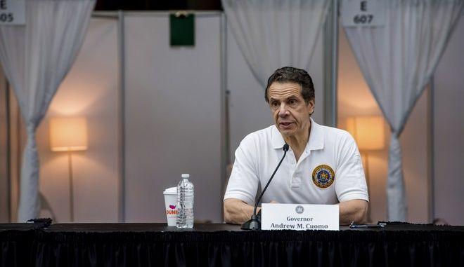 Ο κυβερνήτης της Νέας Υόρκης Αντριου Κουόμο