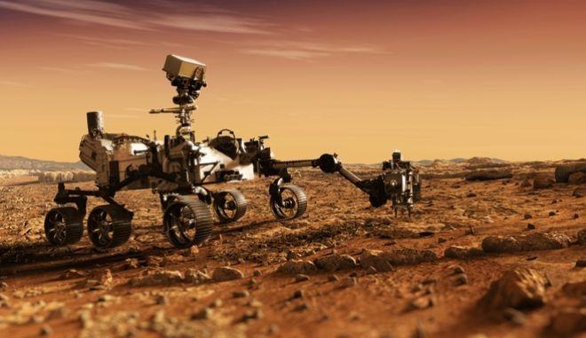 """NASA: Ο πλανήτης Άρης """"σβήνει"""" τα σημάδια ύπαρξης αρχαίας ζωής"""