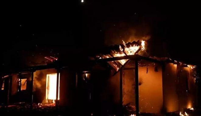 Φωτιά σε παράγκα στην Ιορδανία